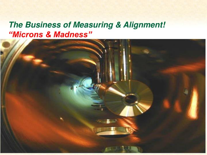 The Business of Measuring & Alignment!