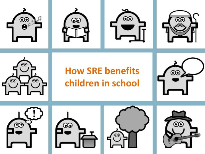 how sre benefits children in school