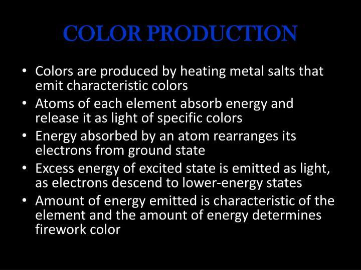 COLOR PRODUCTION