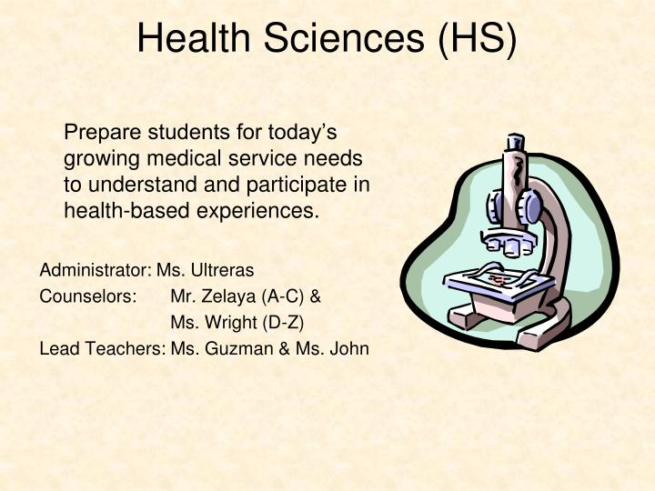 Health Sciences (HS)