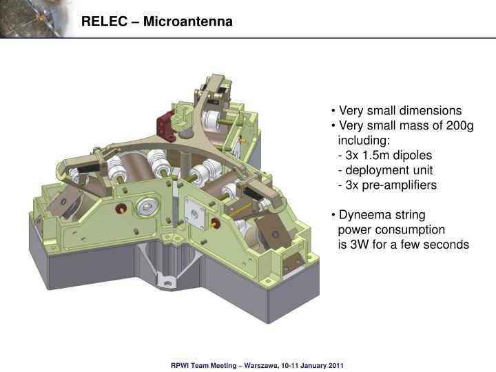 RELEC – Microantenna