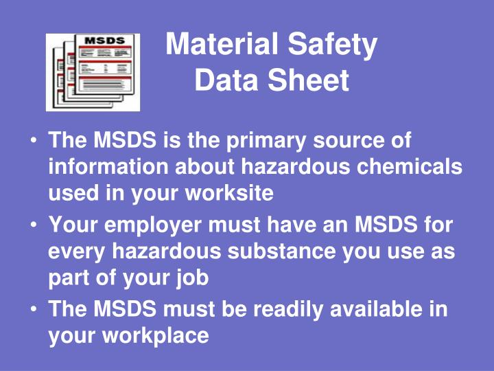 Material Safety