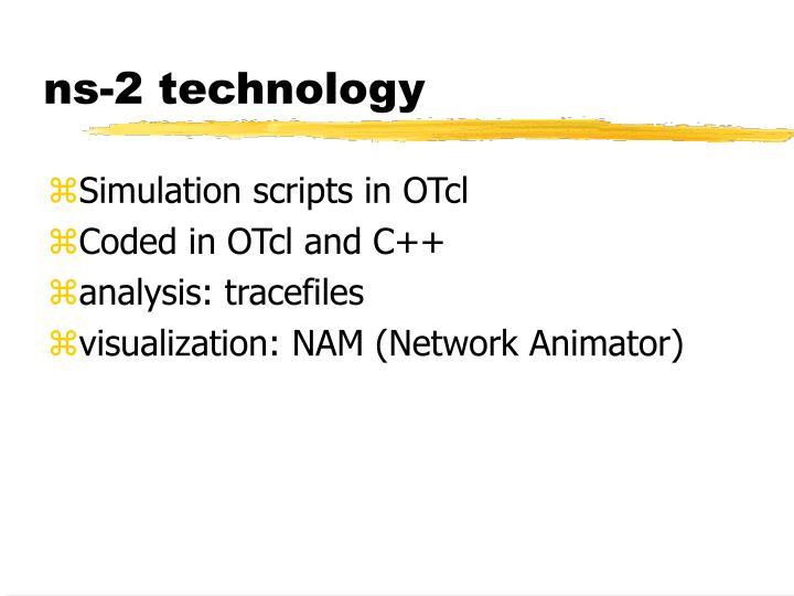 ns-2 technology