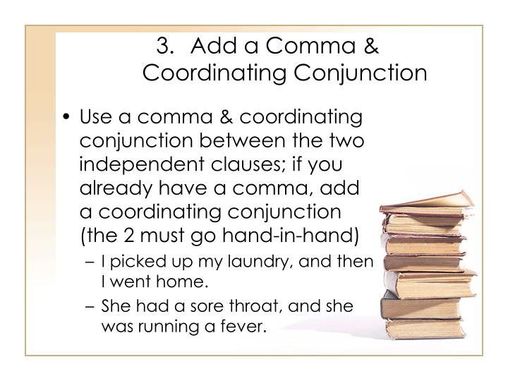 Add a Comma &