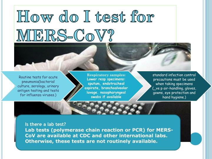 How do I test for MERS-