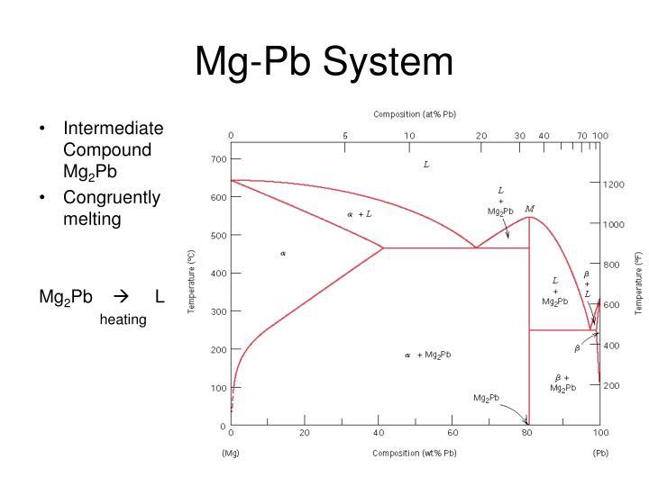 Mg-Pb System
