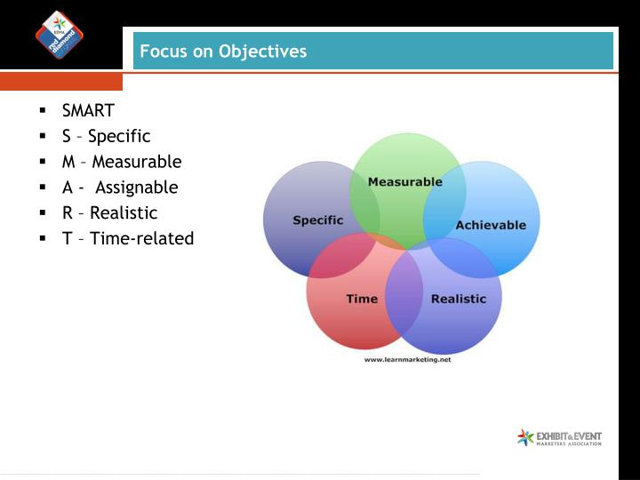 Focus on Objectives