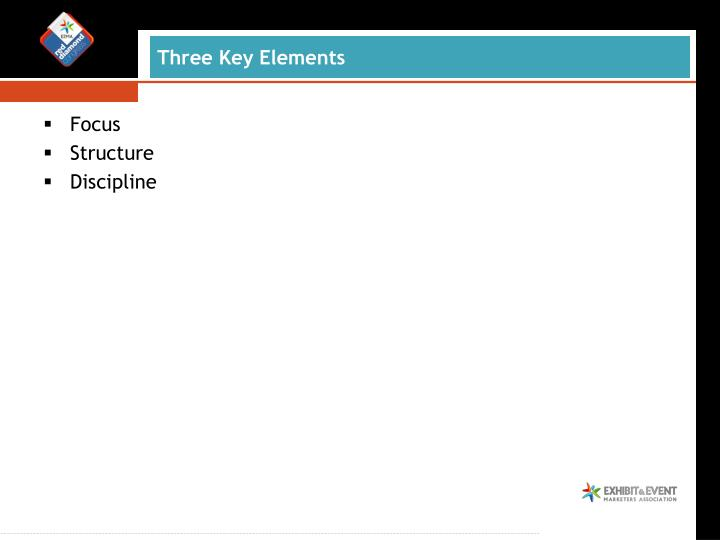 Three Key Elements