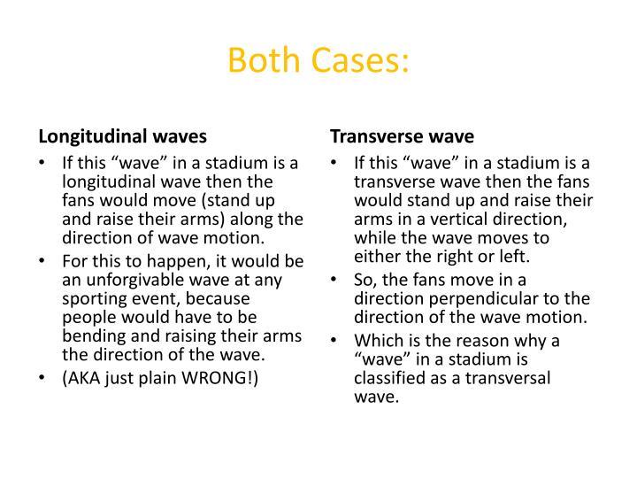 Both Cases: