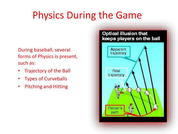 Physics During the Game