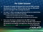 the gsba solution1