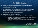 the gsba solution2