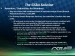 the gsba solution6