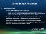 threats to a school district2