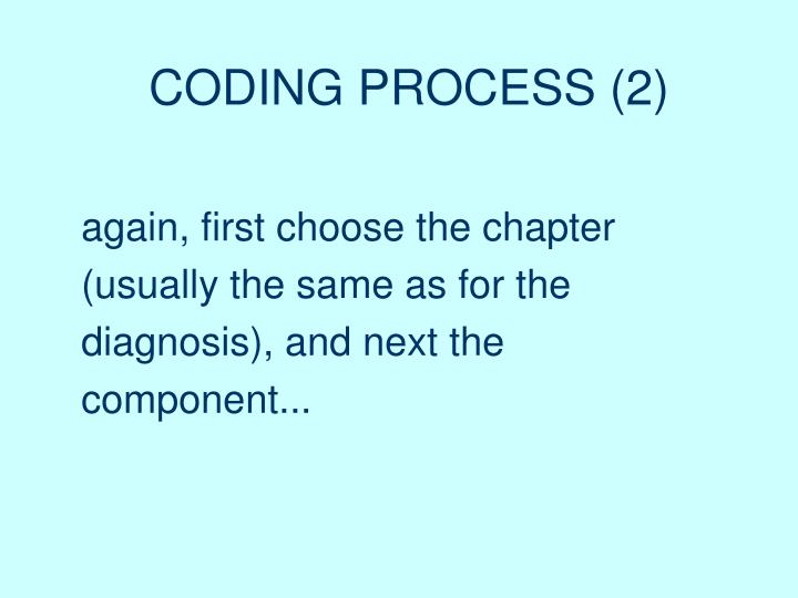 CODING PROCESS (2)