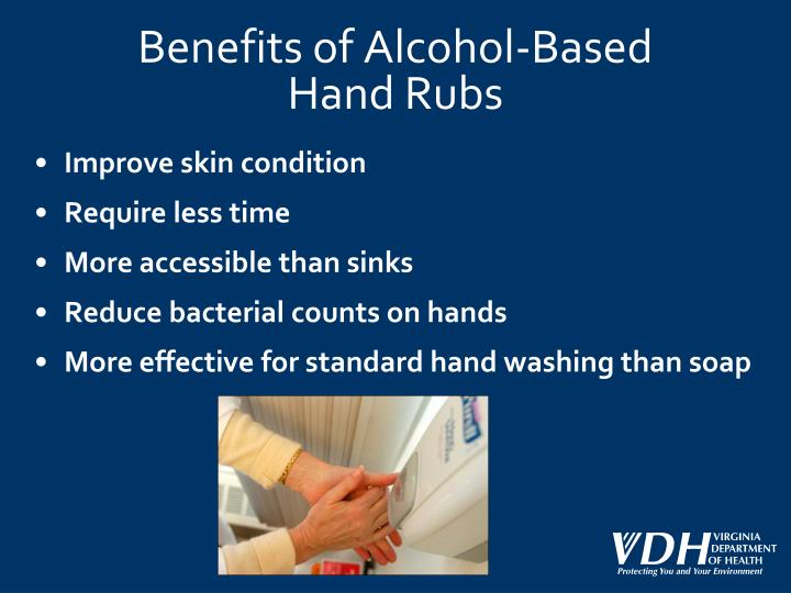 Benefits of Alcohol-Based