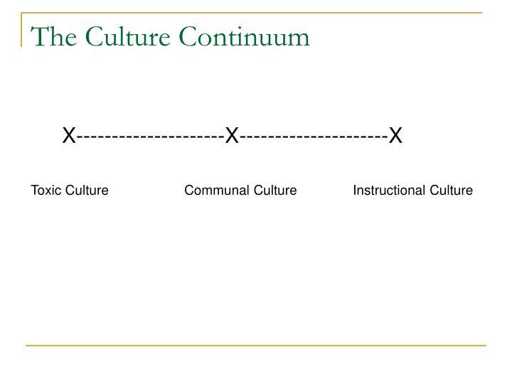 The Culture Continuum