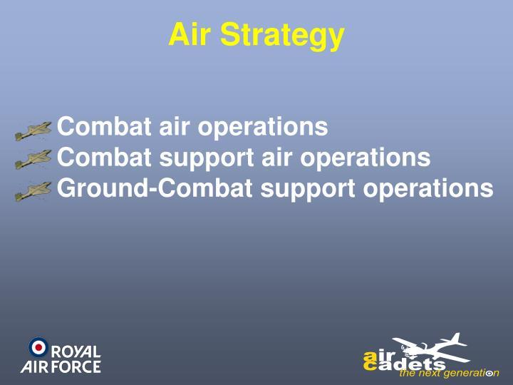 Air Strategy