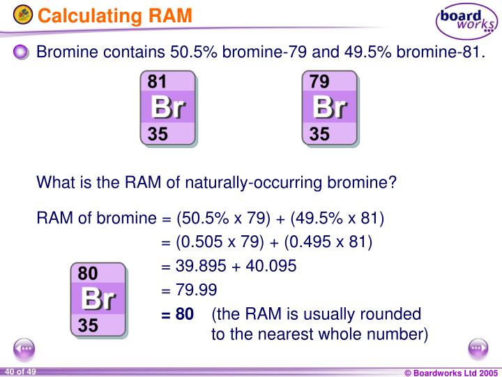 Calculating RAM