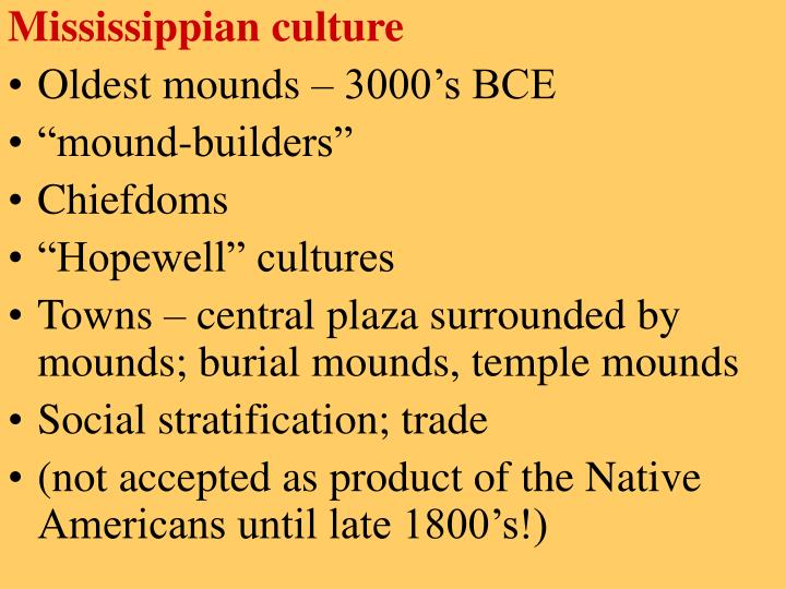 Mississippian culture