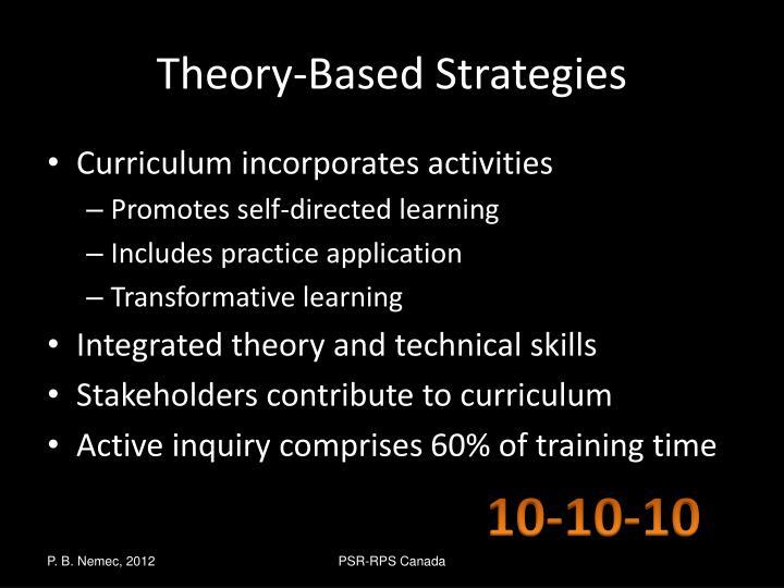 Theory-Based Strategies