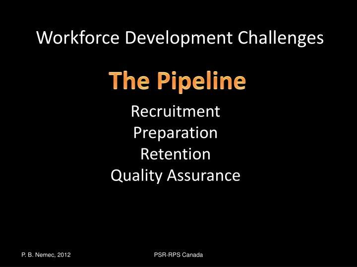 Workforce Development Challenges