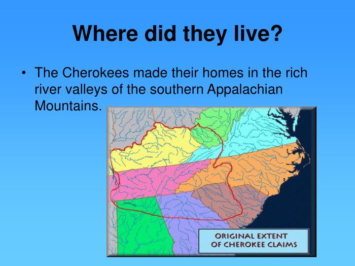 Where did they live?