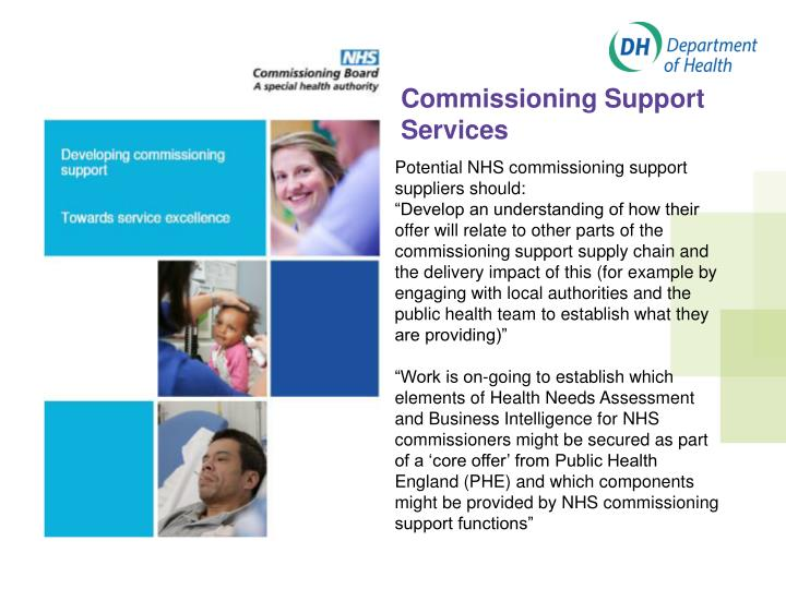 Commissioning Support Services