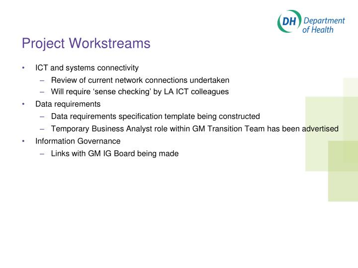 Project Workstreams