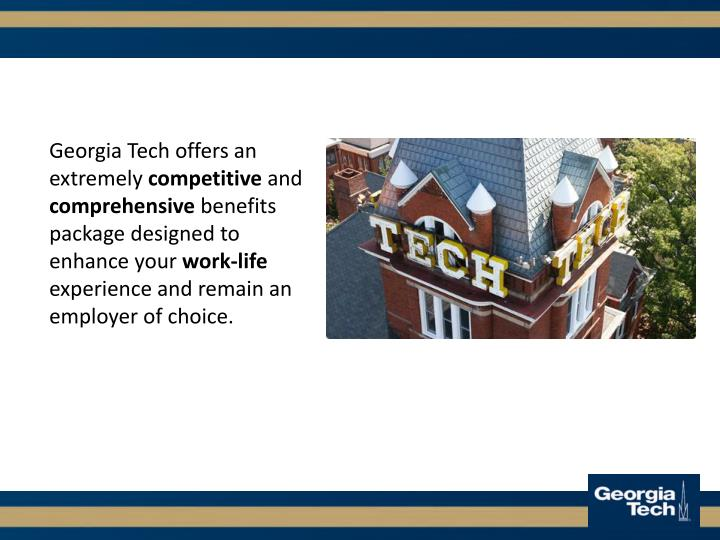 Georgia Tech offers an extremely