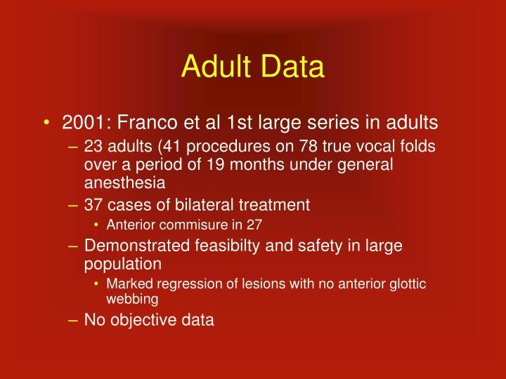 Adult Data