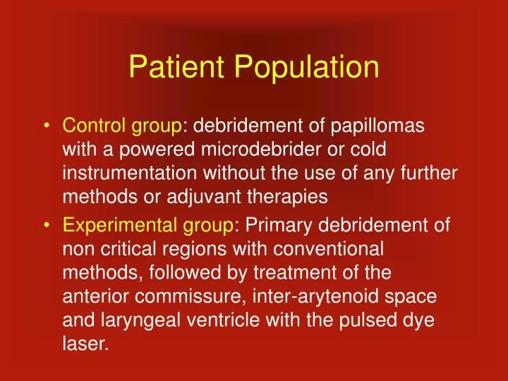 Patient Population