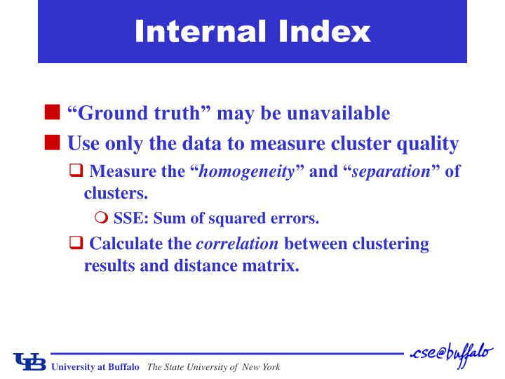 Internal Index