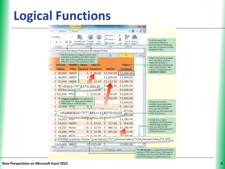Logical Functions