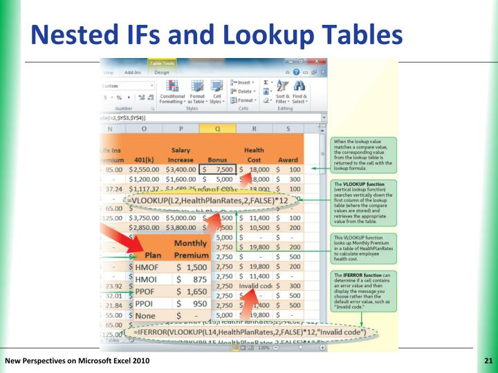 Nested IFs and Lookup Tables