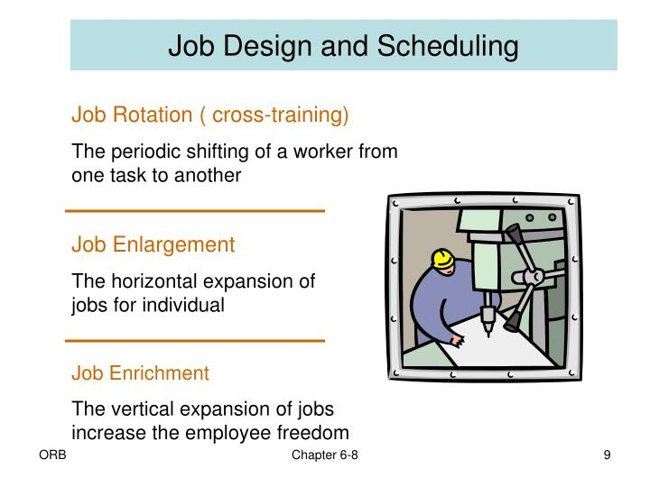 Job Design and Scheduling