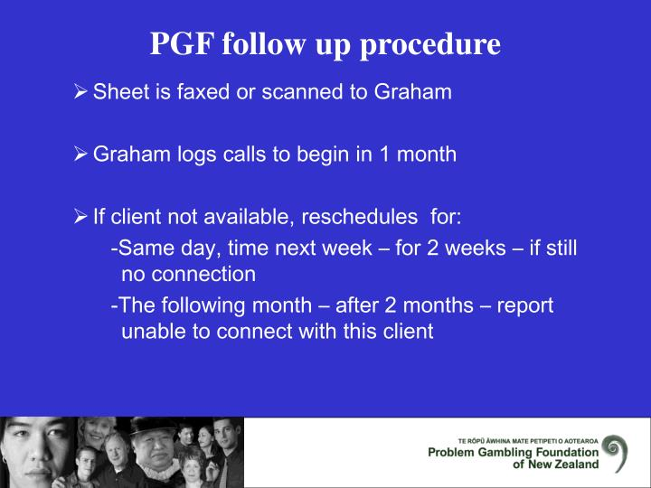 Sheet is faxed or scanned to Graham