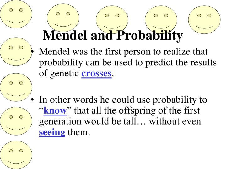 Mendel and Probability