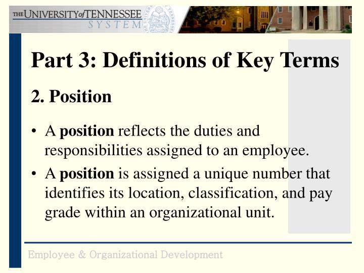 2. Position