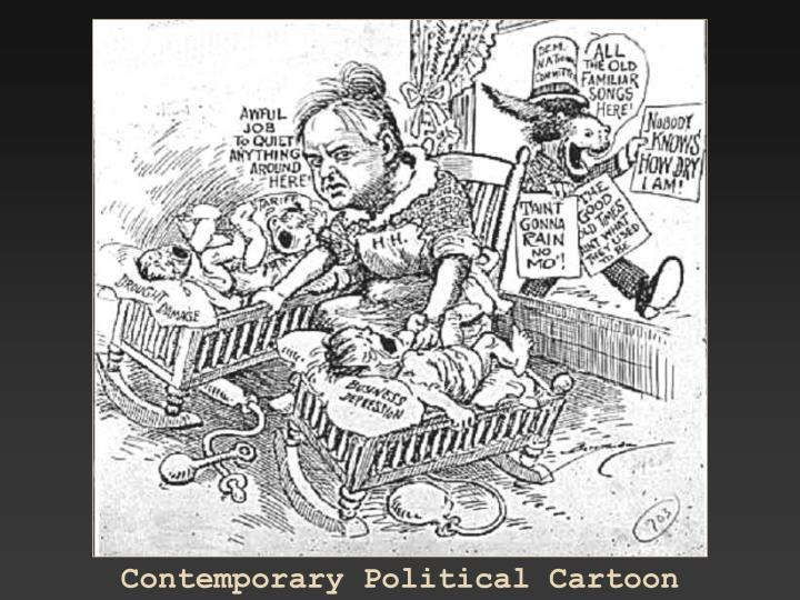 Contemporary Political Cartoon