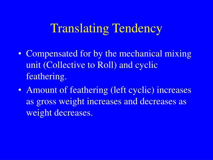 Translating Tendency