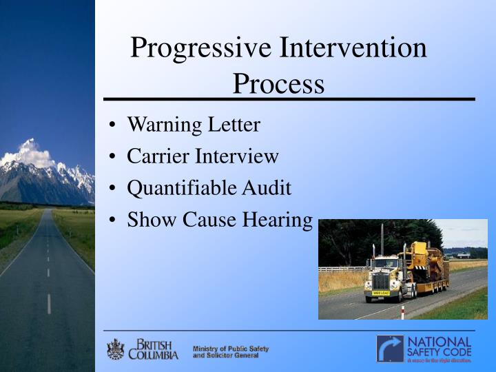 Progressive Intervention Process