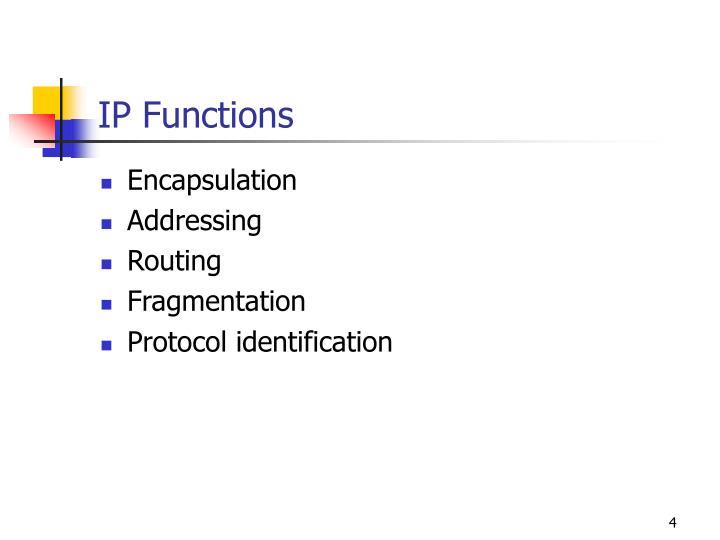 IP Functions