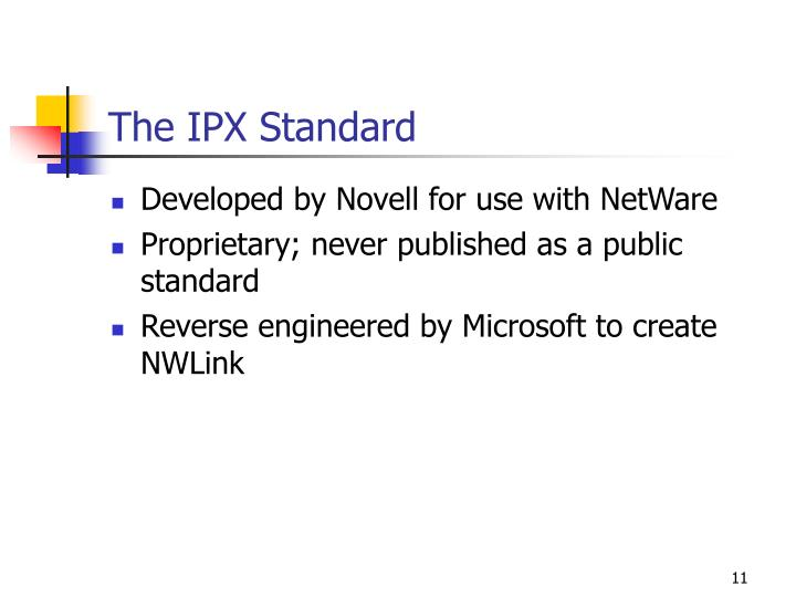The IPX Standard