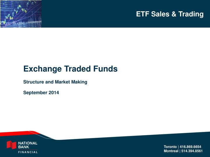 Exchange Traded Funds