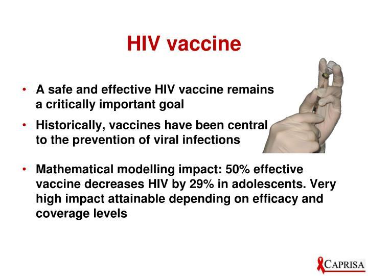 HIV vaccine