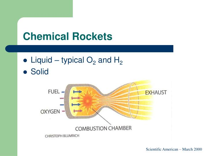 Chemical Rockets