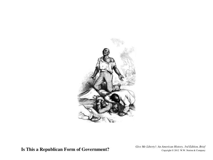 Is This a Republican Form of Government?