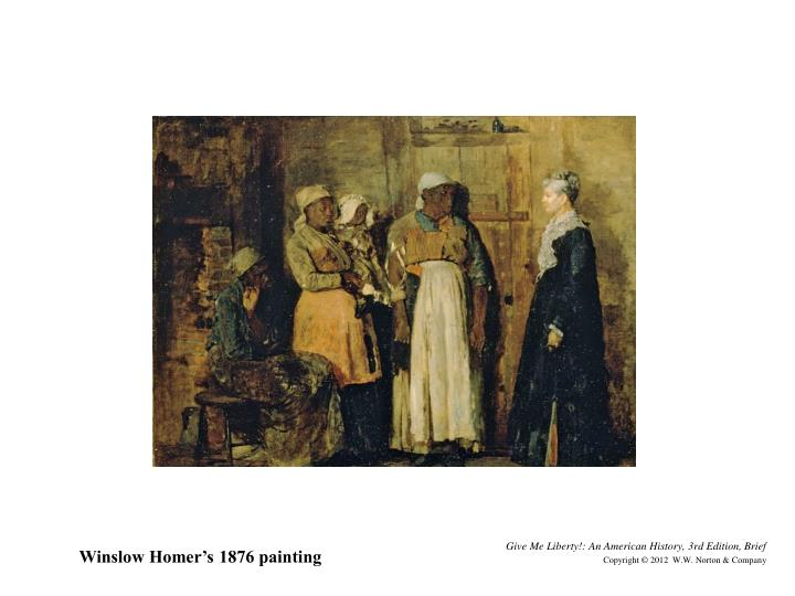 Winslow Homer's 1876 painting