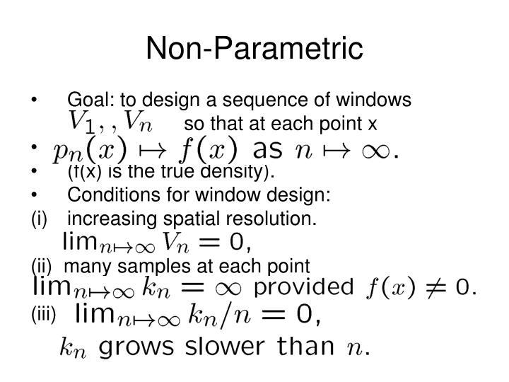Non-Parametric